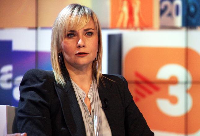 Mònica Terribas, presentadora de Els matins de Catalunya Radio y ex directora de TV3