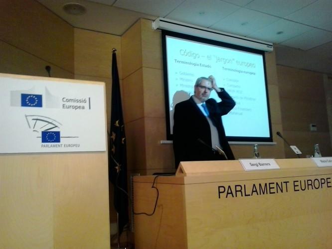 Ferran Tarradellas, representante de la Comisión Europea en Barcelona - Foto: Lluís