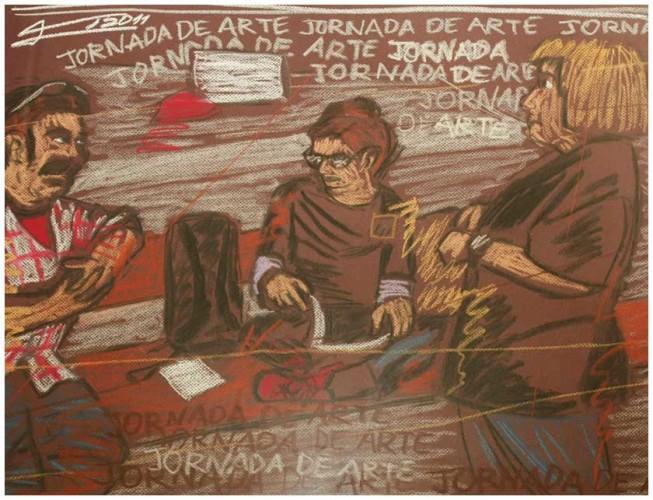 """Juan, Lucía y Dolors"" - Francesc de Diego"