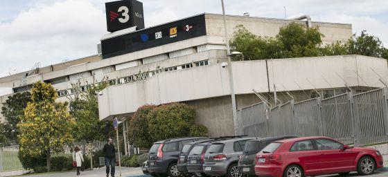 La sede de TV3, donde trabaja Tomás Molina