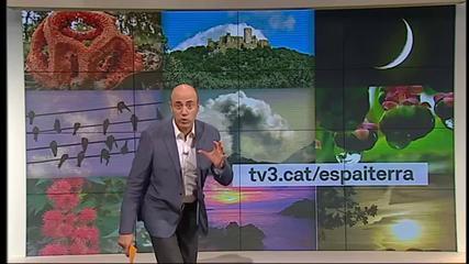 """Tomás Molina también es presentador de """"Espai Terra"""""""