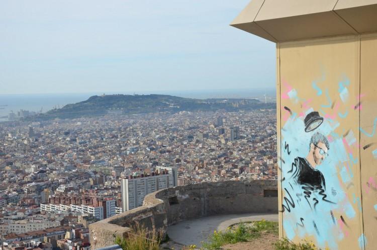 Barcelona Gat Maó grafiti