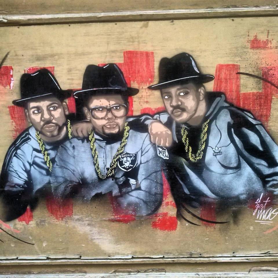 Gat Maó grafiti
