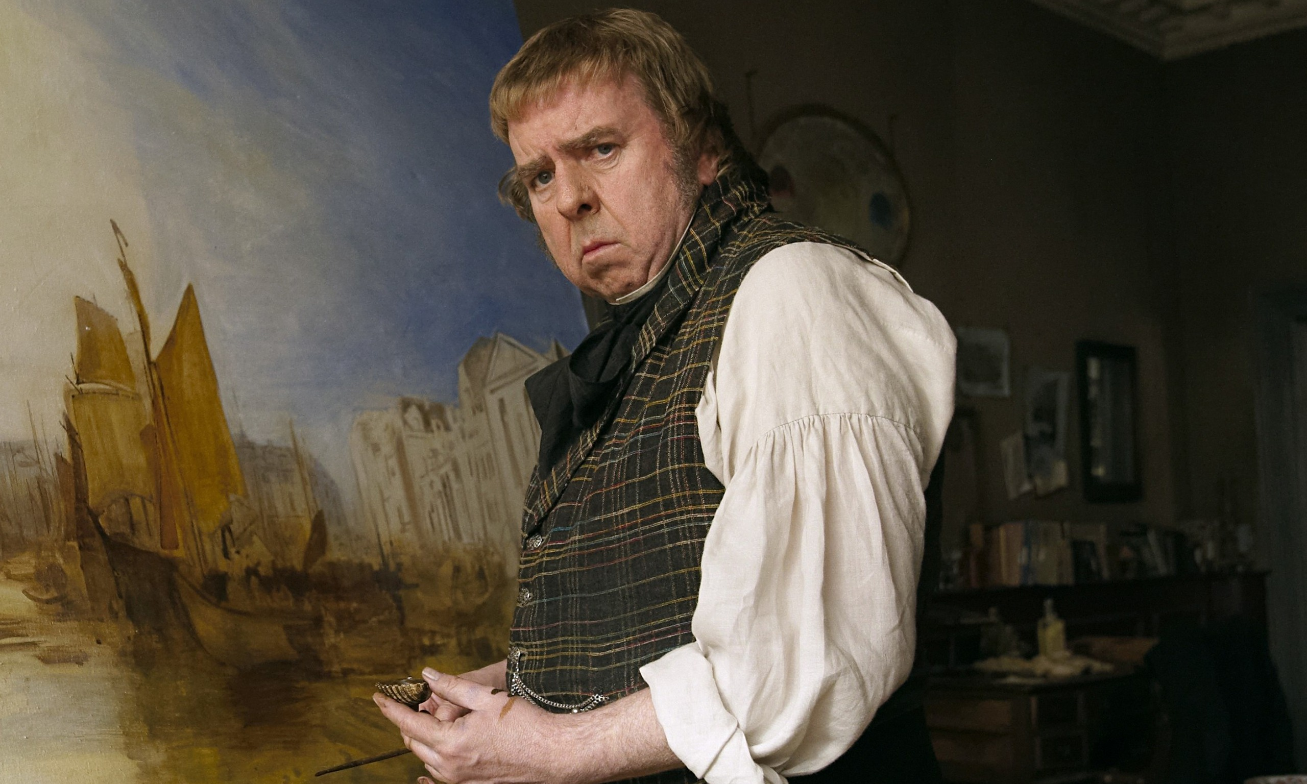 Mr Turner película crítica Spall Mike Leigh Timothy