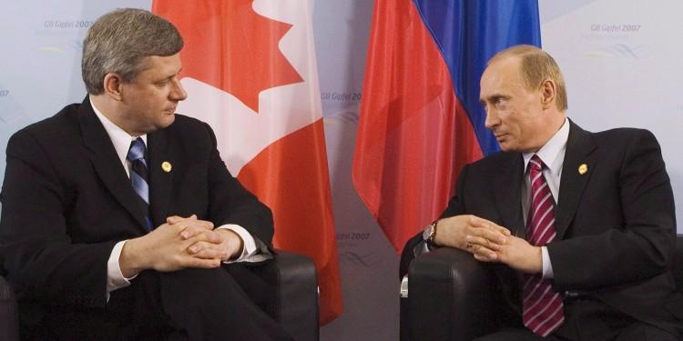 Harper, Putin
