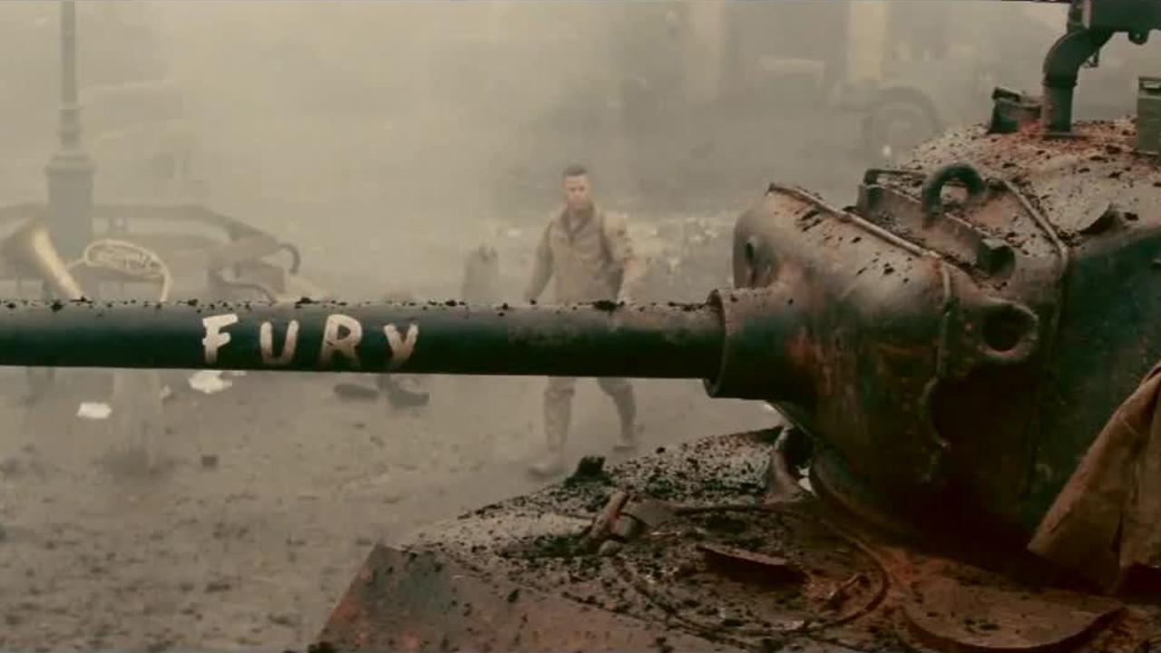 Fury crítica Corazones de acero Brad Pitt