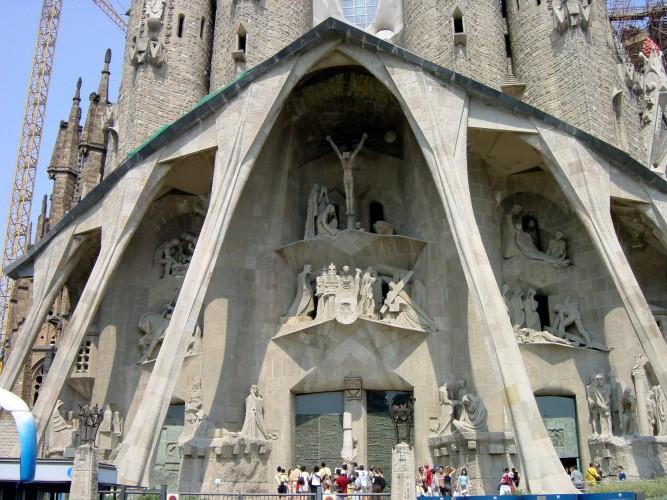 Sagrada Familia Gaudí Pasión muerte