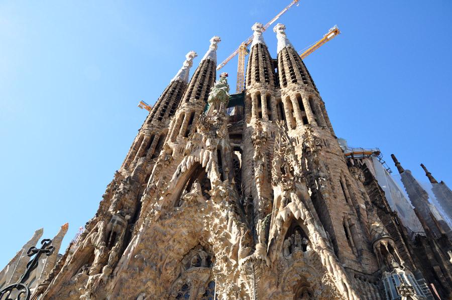 Sagrada Familia Gaudí nacimiento