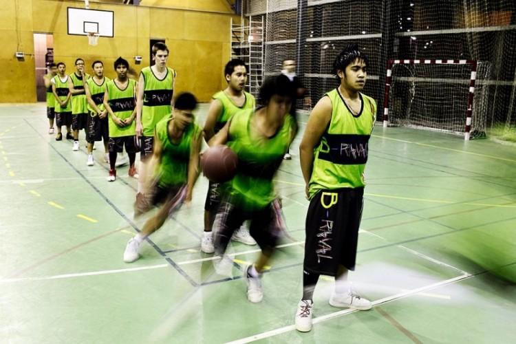 Braval basquet inmigración Raval islamismo
