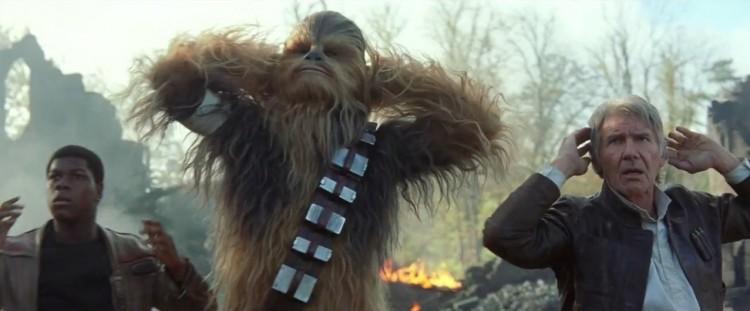 Star Wars despertar fuerza VII critica han solo