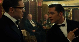 Legend Tom Hardy Kray ronald reggie critica